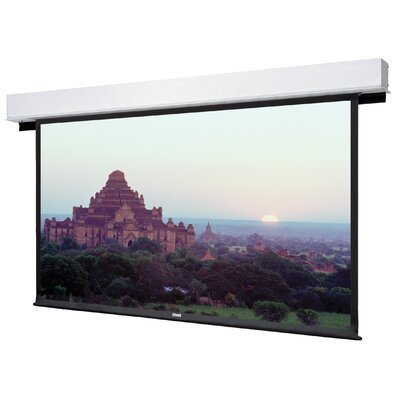 "Advantage Deluxe Electrol Matte White Manual Projection Screen Viewing Area: 50"" H x 80"" W"