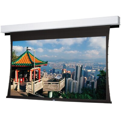"Tensioned Advantage Deluxe Electrol Electric Projection Screen Viewing Area: 57.5"" H x 92"" W"