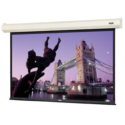 "Cosmopolitan Electrol Matte White 72"" Diagonal Electric Projection Screen"
