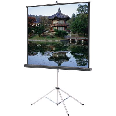 "Picture King Matte White 92"" Diagonal Portable Projection Screen"