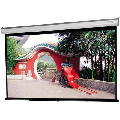"""Model C with CSR Matte White Manual Projection Screen Viewing Area: 57.5"""" H x 92"""" W"""