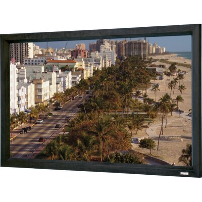 "Cinema Contour Fixed Frame Projection Screen Viewing Area: 81"" H x 192"" W"