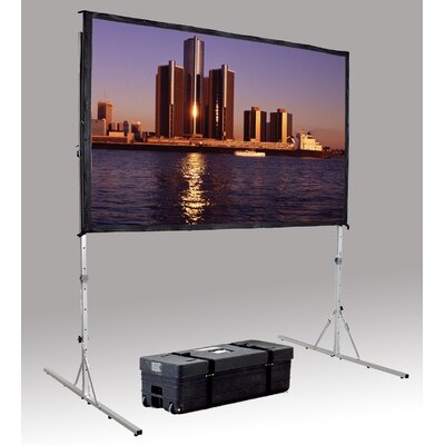 "Fast Fold Deluxe Portable Projection Screen Viewing Area: 62"" H x 96"" W"