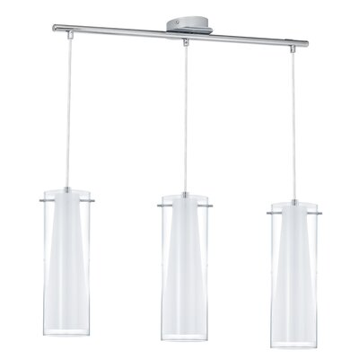Eglo Pinto 3 Light Kitchen Island Pendant Light