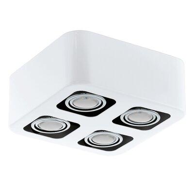 Eglo Toreno 4 Light Flush Ceiling Light
