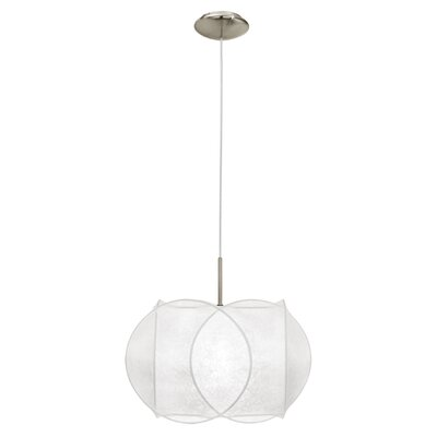 Eglo Latalia 1 Light Drum Pendant Light