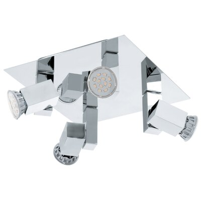 Eglo Piana 4 Light Ceiling Spotlight