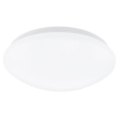 Eglo Giron 1 Light Flush Ceiling Light