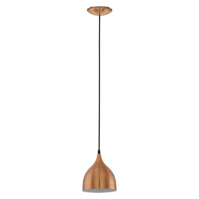 Eglo Coretto 1 Light Mini Pendant Light