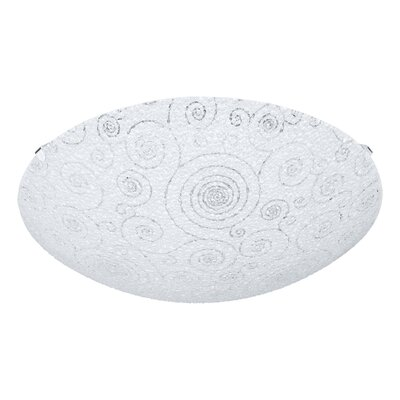 Eglo Riconto 1 Light Flush Ceiling Light
