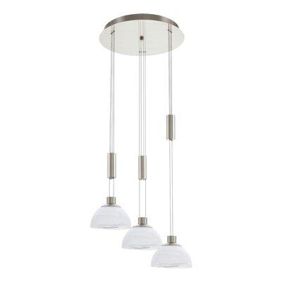 Eglo Montefio 3 Light Cascade Pendant Light