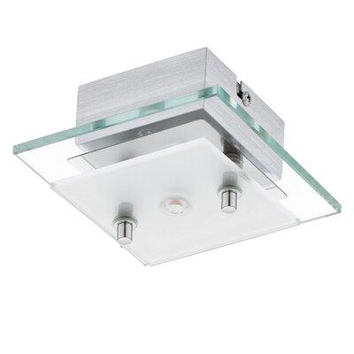 Eglo Fres 1 Light Semi Flush Ceiling Light