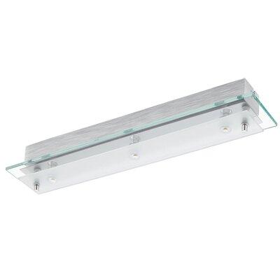 Eglo Fres 3 Light Semi-Flush Ceiling Light