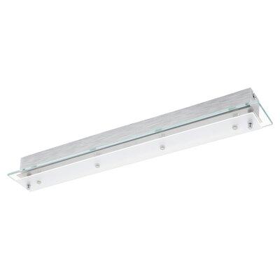 Eglo Fres 4 Light Semi-Flush Ceiling Light