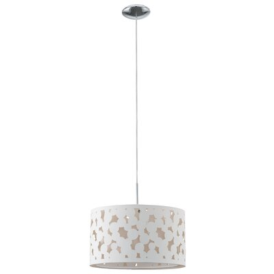 Eglo Sessa 1 Light Drum Pendant
