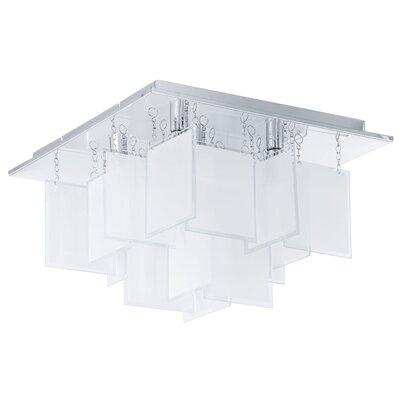 Eglo Condrada 5 Light Semi-Flush Ceiling Light
