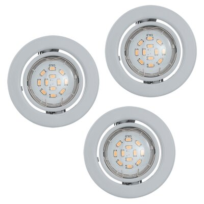 Eglo Igoa 9cm Recessed Light Set