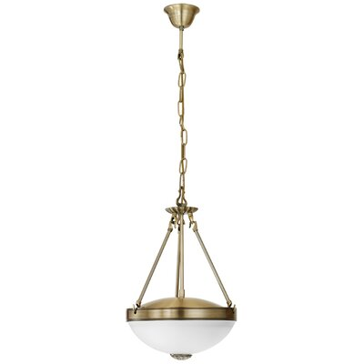 Eglo Savoy 2 Light Bowl Pendant Light