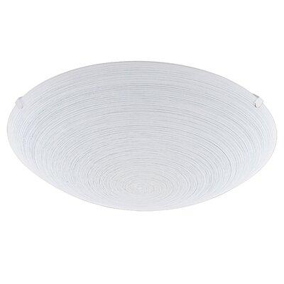 Eglo Malva 1 Light Flush Ceiling Light