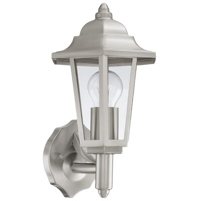 Eglo Cerva 1 Light Semi Flush Wall Light
