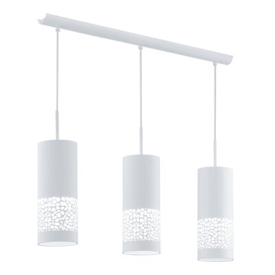 Eglo Carmelia 3 Light Kitchen Island Pendant
