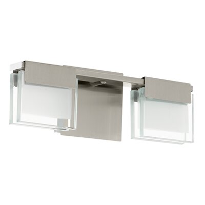 Eglo Clap 2 Light Semi-Flush Wall Light