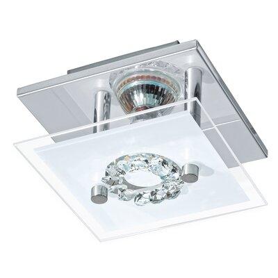 Eglo Roncato 1 Light Semi-Flush Ceiling Light