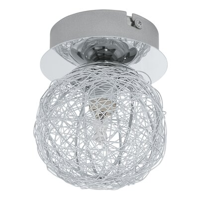 Eglo Prodo 1 Light Semi Flush Ceiling Light