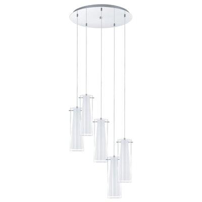 Eglo Pinto 5 Light Cascade Pendant Light