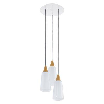 Eglo Pentone 3 Light Cascade Pendant Light