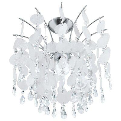 Eglo Fedra 1 Light Semi-Flush Ceiling Light