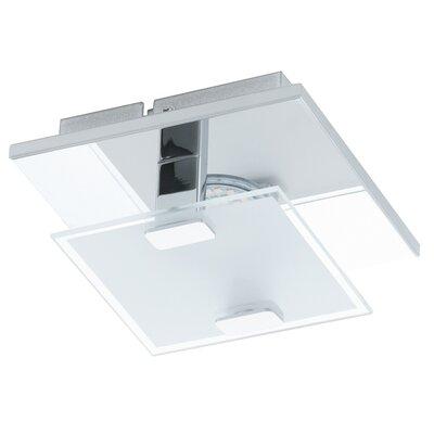 Eglo Vicaro 1 Light Flush Ceiling Light