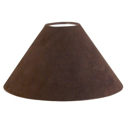 Eglo 21cm 1+1 Vintage Textile/Leather Empire Lamp Shade