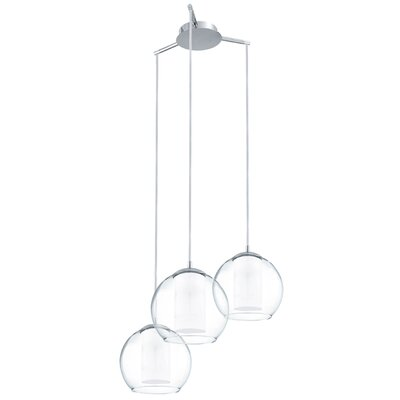 Eglo Bolsano 3 Light Cascade Pendant Light