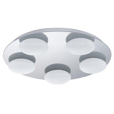 Eglo Becerro 5 Light Flush Ceiling Light