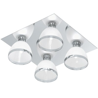 Eglo Bastillio 4 Light Flush Ceiling Light