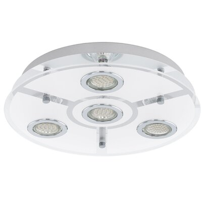 Eglo Cabo 4 Light Flush Ceiling Light