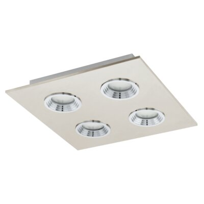 Eglo Sabbio 4 Light Semi-Flush Ceiling Light