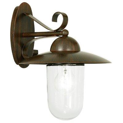 Eglo Milton 1 Light Outdoor Sconce
