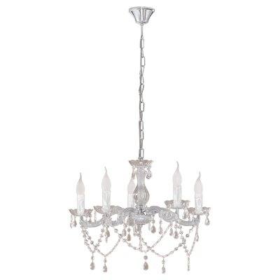 Eglo Mozart 5 Light Candle Chandelier