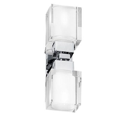Eglo Sintra Double Bathroom Light with Class 1 Protection in Chrome