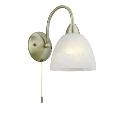 Eglo Dionis 1 Light Semi-Flush Wall Light