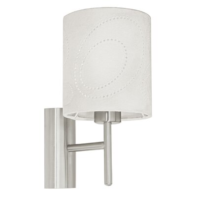 Eglo Indo 1 Light Semi-Flush Wall Light