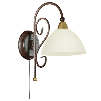 Eglo Medici 1 Light Semi-Flush Wall Light