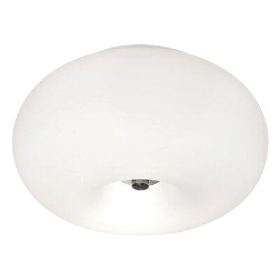 Eglo Optica 2 Light Flush Ceiling Light