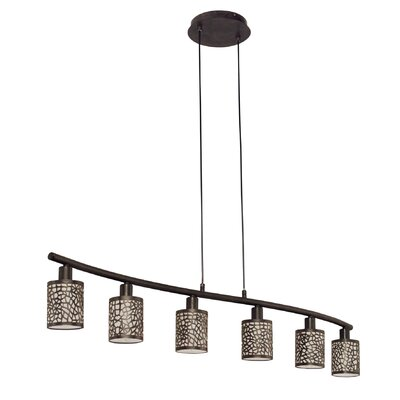 Eglo Almera 6 Light Kitchen Island Pendant Light