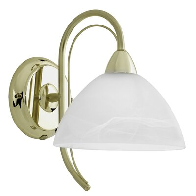 Eglo Milea 1 Light Semi-Flush Wall Light