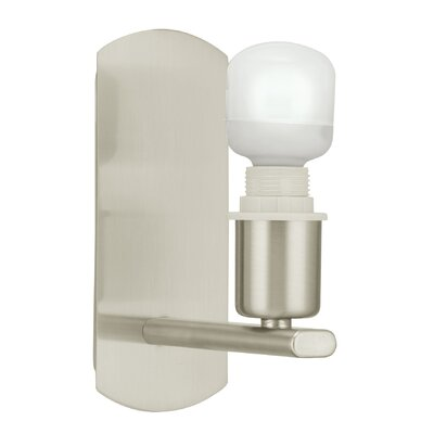 Eglo My Choice 1 Light Semi-Flush Wall Light