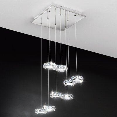 Eglo Corliano 8 Light Cascade Pendant