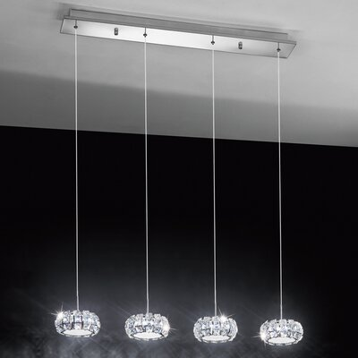 Eglo Corliano 4 Light Kitchen Island Pendant